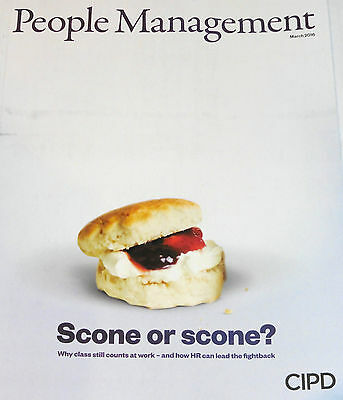 *new* People Management Hr Magazine March 2016 Social Mobility, In-Work Poverty