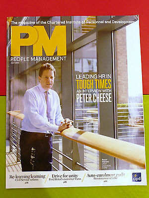 Pm People Management Mag Jul 2012 Peter Cheese Great Leaders Customer Service