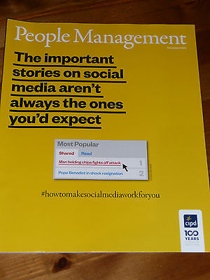 Pm People Management Hr Magazine Dec 2013 -  Social Media: All You Need To Know