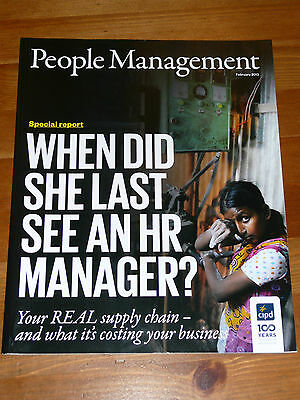 Pm People Management Mag Feb 2013 Global Supply Chain Religion Ebay Wellbeing