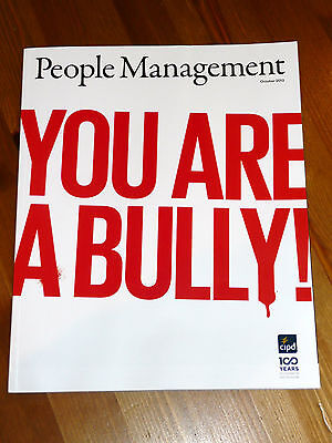 Pm People Management Mag Oct 2013 Bullying - Line Managers - Health Screening