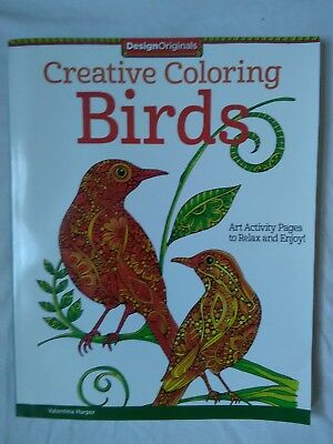 Coloring Is Fun Birds Book By Thaneeya McArdle 2017 Paperback