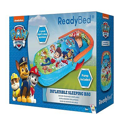Paw Patrol My First ReadyBed-Toddler Airbed Inflatable and Sleeping Bag in One