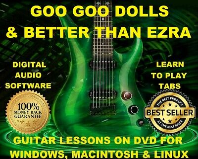 Goo Goo Dolls 216 & Better Than Ezra 71 Guitar Tabs Software Lesson CD 14 BTs