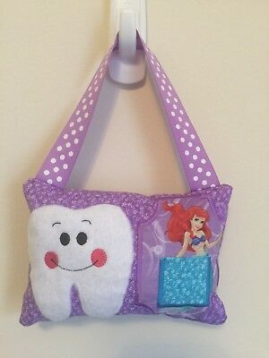 New Girls MERMAID PRINCESS Tooth Fairy Pillow - Handmade BBCB Bedroom