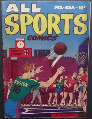 All Sports Comics #3 1949 3.0 Hard2Find iss; M.Lawrence art; 52 pg;BV$33 35%Off