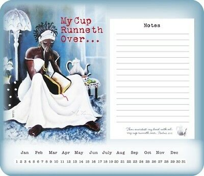 Stationary My Cup Runneth Over Memo Mouse Pad Stationary Set Office supplies
