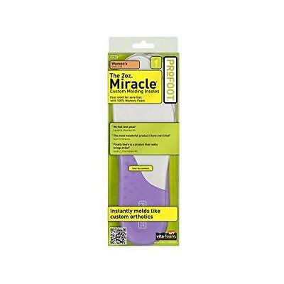 ProFoot Miracle Molding Insoles Women's Sizes 6-10 1 Pair (Colors May Vary)
