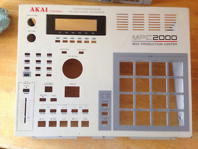 AKAI MPC2000 Faceplate and Front Panel
