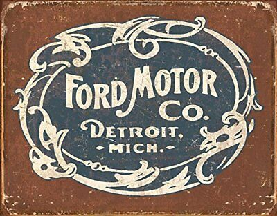 Tin Signs TSN1707-BRK Ford Historic Logo