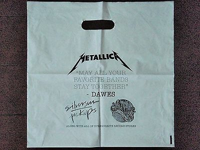 METALLICA - BARONESS - Record Store Day (RSD) PLASTIC BAG