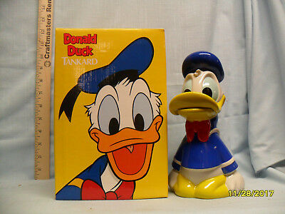 Disney 1992 Donald Duck Lidded Stein DNY4