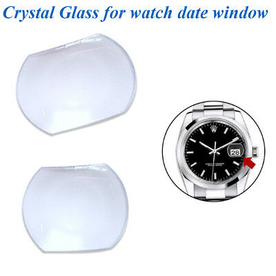 High Quality Sapphire Bubble Magnifier Lens for Date Window Watch Crystal Glass