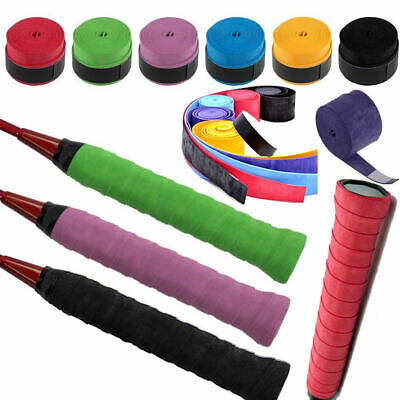 2pc/lot absorbe Tennis Badminton Squash raquette Grip Tape Anti dérapant Karakal