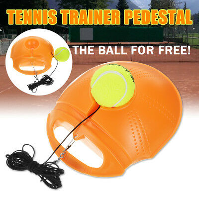 Tennis Singles Training Base Board + Tennis Ball Exercise Practice Trainer Toll