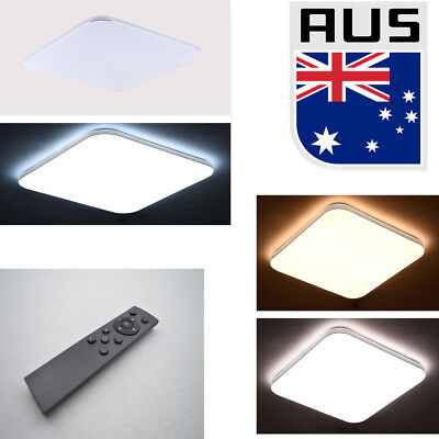 LED Ceiling Light 48W Dimmable Living Lamp Modern Square Fixture Flush Bathroom
