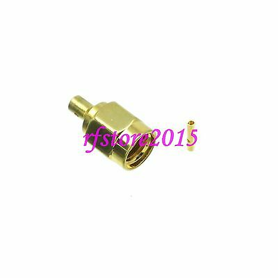 """1pce Connector RP-SMA male jack solder RG047 B1674A 0.047"""" RF COAXIAL Straight"""