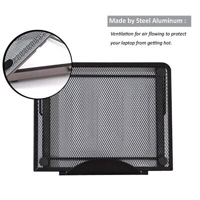 Metal Ventilated Adjustable Laptop Stand Mount For iPad Air Tablets Laptop