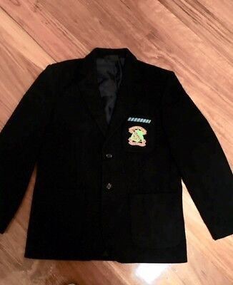 "Parade College Blazer ""Worn only once to take school photos"""
