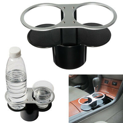Black Universal Car Van Storage Drinking Bottle Can Cup Mug Mount Holder Stand