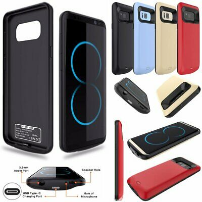 External Battery Charger Case Cover Pack For Samsung S7 Edge S8 S8 Plus Note 8
