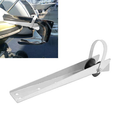 Marine Grade 316 Stainless Steel Self Launching Boat Anchor Bow Roller 390mm