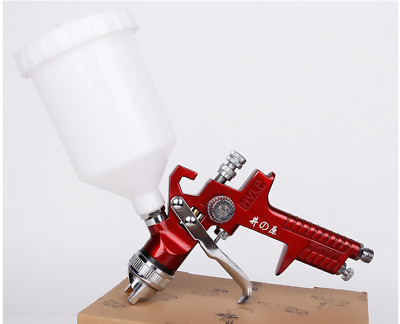 1.4mm Nozzle HVLP Gravity Feed Professional Car Paint Spray Gun 600ml Cup