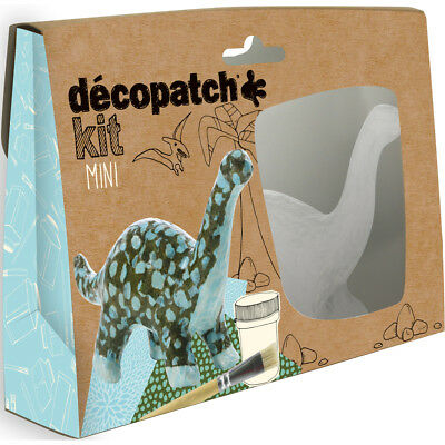 Avenue Mandarine Decopatch Mini Dinosaurs Kit - Kids Art Decoupage Kit