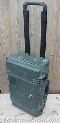 PELI iM2500 Storm Case Airline Hand Luggage Waterproof MOD Army Wheels & Handle