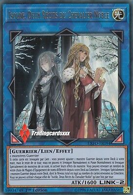 ♦Yu-Gi-Oh!♦ Isolde, Deux Récits du Chevalier Noble : EXFO-FR094 -VF/Ultra Rare-