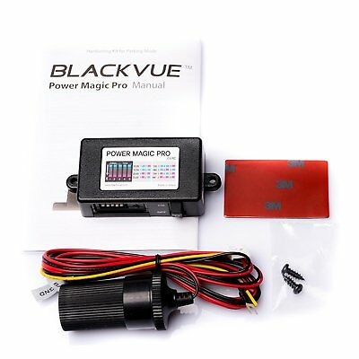 Power Magic PRO Hardwire Kit BlackVue Battery Discharge Prevention Vehicle New