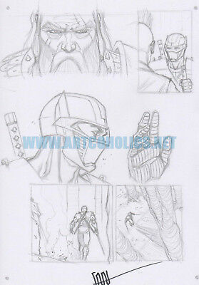 CAFU original sketch RAPTURE by VALIANT Comics SIGNED