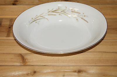 Golden Harvest Fine China of Japan - Oval Serving Bowl - Wheat Pattern
