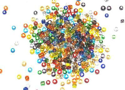 150g WHOLESALE TRADE PACK of GLASS SEED BEADS JEWELLERY BEADING - Size 11/0 2mm