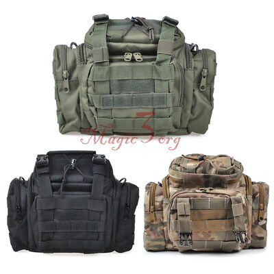 UK Tactical Waist Pack Belt Bag Camping Hiking Outdoor Military Molle Pouch
