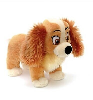 Disney Lady From Lady And The Tramp Mini Plush Bean Bag Soft Toy