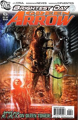 Green Arrow Comic 6 DC 2011 Krul Neves Cifuentes  Brightest Day