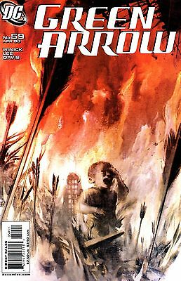 Green Arrow Comic 59 DC 2006 Winick Lee Davis Until The End Of The World Part 2