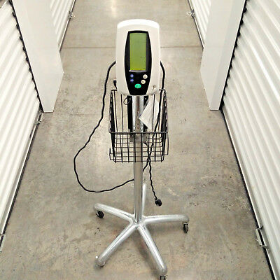 EUC Welch Allyn Vital Signs Monitor 420 Series Power Supply & Rolling Stand