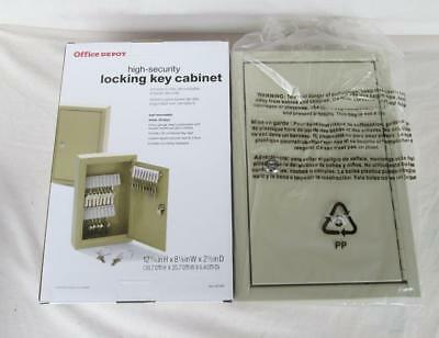 High Security Holds 30 Keys Locking Key Wall Mountable Cabinet New In The Box