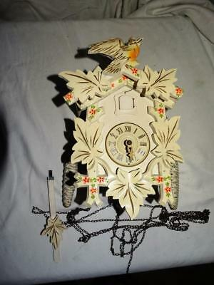 Vintage Black Forest Cuckoo Clock - August Schwer - West Germany,collectable.
