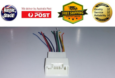 wiring harness for mitsubishi outlander zj 2013+ cable connector lead-