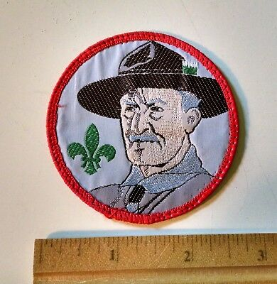 Lord Baden Powel Founder of Scouting Patch