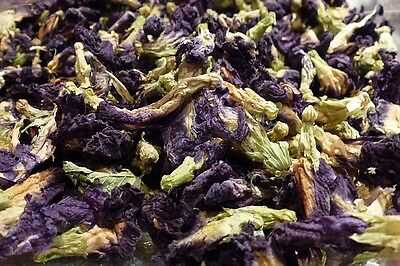 ORGANIC THAI BUTTERFLY PEA FLOWERS , Loose TEA, COLOURING FOOD,Lovely Drink 10g