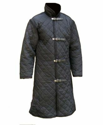 Medieval Thick Padded Gambeson blk nice look