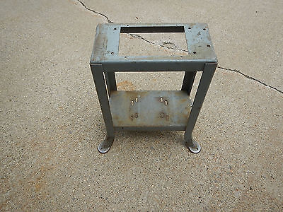 "Early Delta Quality 14"" Band Saw Welded Steel Stand With Decal"