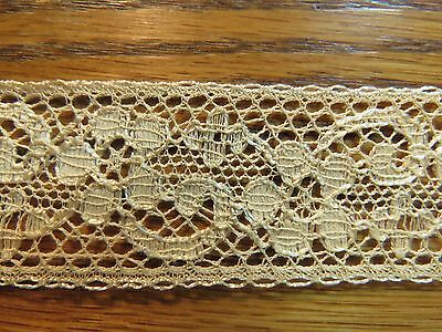 Vintage Lace Trim Antique Insertion Edging Insertion Edging Flowers