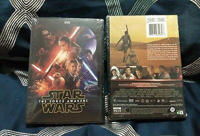 Star Wars: The Force Awakens (DVD,2016) Brand New Free SHIPPING** great FILM**
