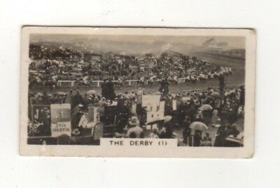 Epsom Derby Horse Racing cigarette card