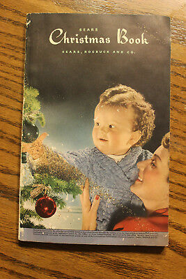 1943 Sears Christmas Wish Book Catalog ~ WWll ~ 191 pgs Vintage Gifts and Goods